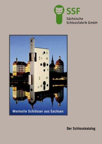 Der Schlosskatalog - Sächsische Schlossfabrik GmbH