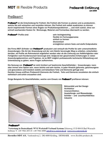 PreBeam® - Quick Berlin Design GmbH