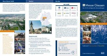 funktional kommunikativ freundlich - Messe Giessen GmbH