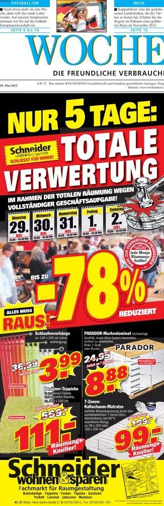 Langenfeld 22-12 - Wochenpost