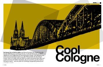 Im Januar ist es kalt in Köln und dennoch pulsiert ... - designjournalists