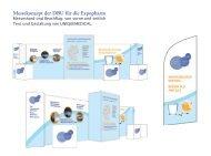 Messekonzept der DBU für die Expopharm - UNIQUEMEDICAL.