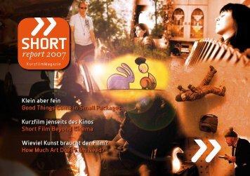 Eine kleine Sensation im Filmbuch-Bereich - AG Kurzfilm