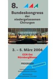 5. März 2006 CCN Ost NürnbergMesse PROGRAMM