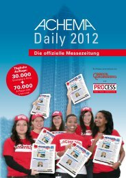 ACHEMA Daily - process worldwide