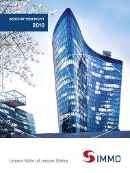 2010 geschäftsbericht - S IMMO
