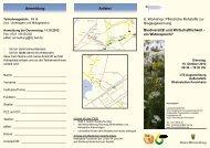 Anmeldung Anfahrt 6. Workshop: Pflanzliche Rohstoffe zur ...
