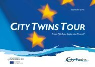 CITYTWINSTOUR CITYTWINSTOUR - City Twins Association