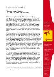 set for art KARLSRUHE 2012
