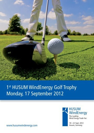 information and registration - Husum WindEnergy