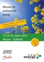 15. til 18. marts 2012 Husum · Tyskland Messen for vedvarende energi