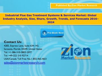 Industrial Flue Gas Treatment Systems & Services Market, 2016–2024