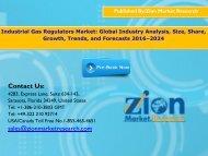 Industrial Gas Regulators Market, 2016–2024