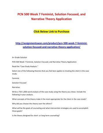 nr501 application of theory paper