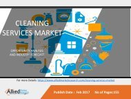 Cleaning Services Market