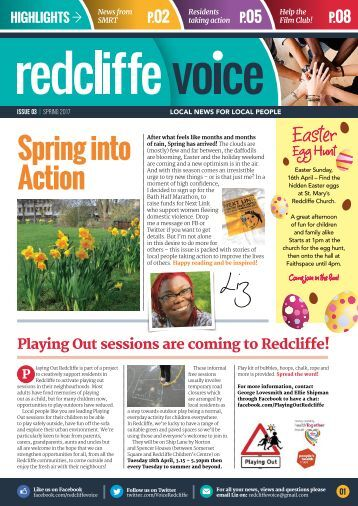Redcliffe Voice Issue 03 Spring 2017