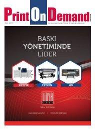 Print on Demand Mart – Nisan 2017
