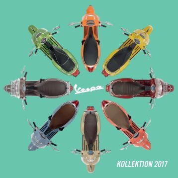 Vespa Katalog 2017