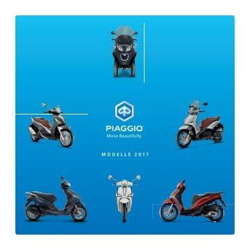Piaggio Katalog 2017