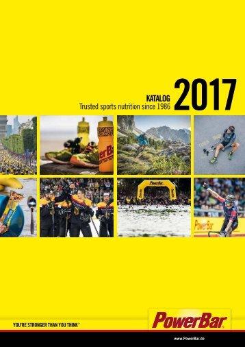 PowerBar Produkt-Katalog 2017