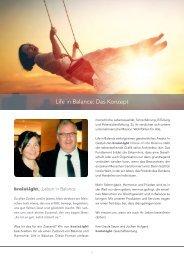 Life Balance Konzept