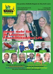 Knallfrosch 2007 - Immer mehr Sex im LFK