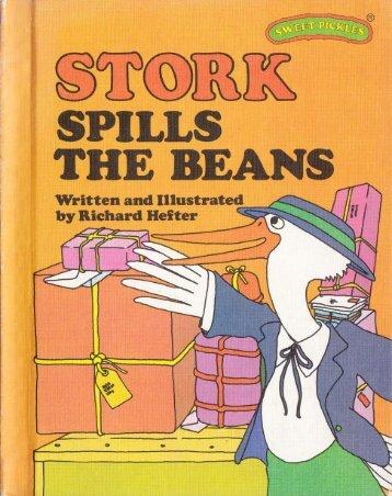 S - Stork spill the beans
