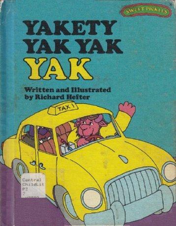 Y - Yakety Yak Yak