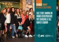 CASE STUDY BANKING ON WOMEN ENTREPRENEURS PAYS DIVIDENDS AT BLC BANK OF LEBANON