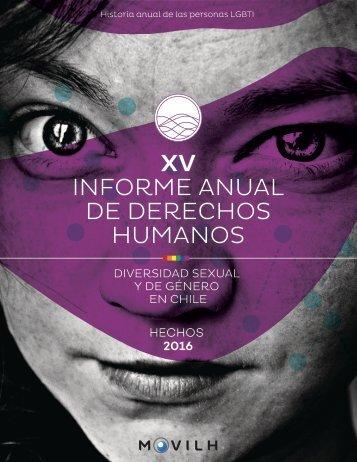 INFORME ANUAL DE DERECHOS HUMANOS