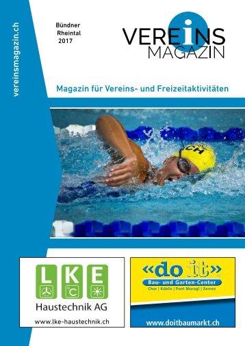 Vereinsmagazin Bündner Rheintal Ausgabe 1