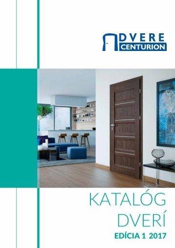 Katalóg dverí Centurion 2017