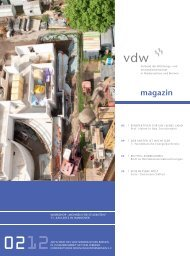 magazin - vdw