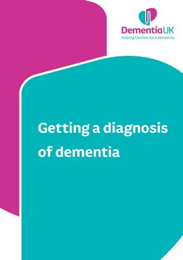 Getting a diagnosis of dementia