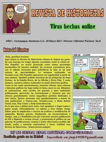 REVISTA DE HISTORIETAS No.8