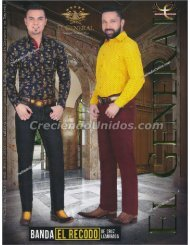 #579 El General Original Western Wear Botas y Ropa vaquera