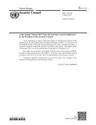 S/2017/197 Security Council