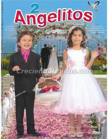 #571 Angelitos 2 Volumen 10 Ropa, Calzado y Accesorios para ninos