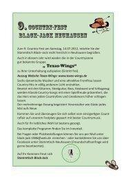 Samstag, 14. Juli 2012 - Stammtisch Black-Jack Neuhausen
