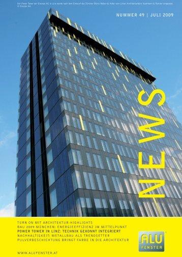 power tower in linz: technik gekonnt integriert - Aluminium Fenster ...