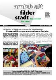 So 22. - Stadt Filderstadt