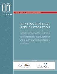 ENSURING SEAMLESS MOBILE INTEGRATION
