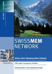 Ausgabe 2/2007 - Swissmem