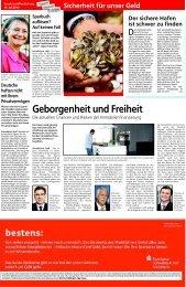 Sicherheit für unser Geld - Sparkasse Schwäbisch Hall - Crailsheim
