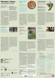 Meridian I Urban - Haus der Kulturen der Welt