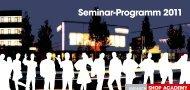 Seminar-Programm 2011 - Hutner Training AG
