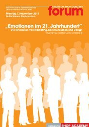 Emotion - Umdasch - Shop Concept