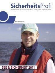 SEE & SICHERHEIT 2011 - Berufsgenossenschaft für Transport und ...