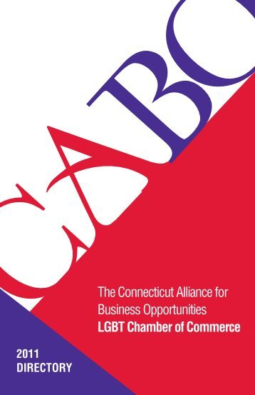 The Connecticut Alliance for Business Opportunities LGBT ... - CABO