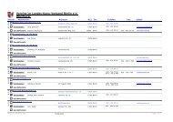 Vereine an der Oberhavel (Tabelle) - Landes-Kanu-Verband Berlin